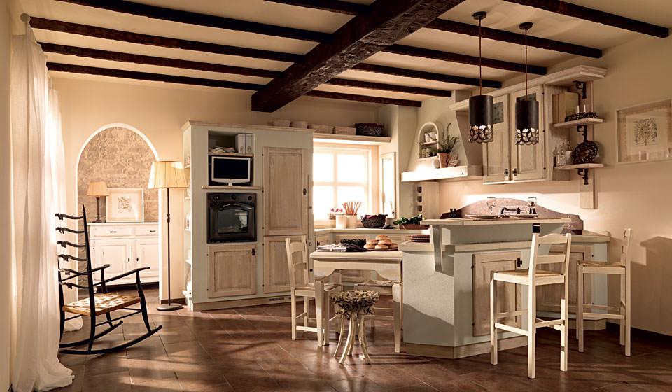Cucine classiche mobilificio marangonimobilificio marangoni - Cucine in muratura rustiche prezzi ...